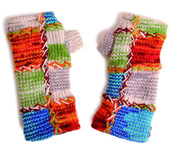 Savage Culture: Rosela Wool Driving Mittens (More Colors!)