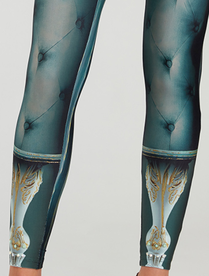 IPNG: Inna Me Rose Reflection Illusion Legging (Some Ship Immed!)