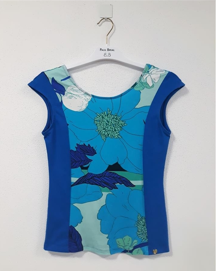 Paul Brial: Blue Daffodils Of the Ivory Coast Top (More Colors!)