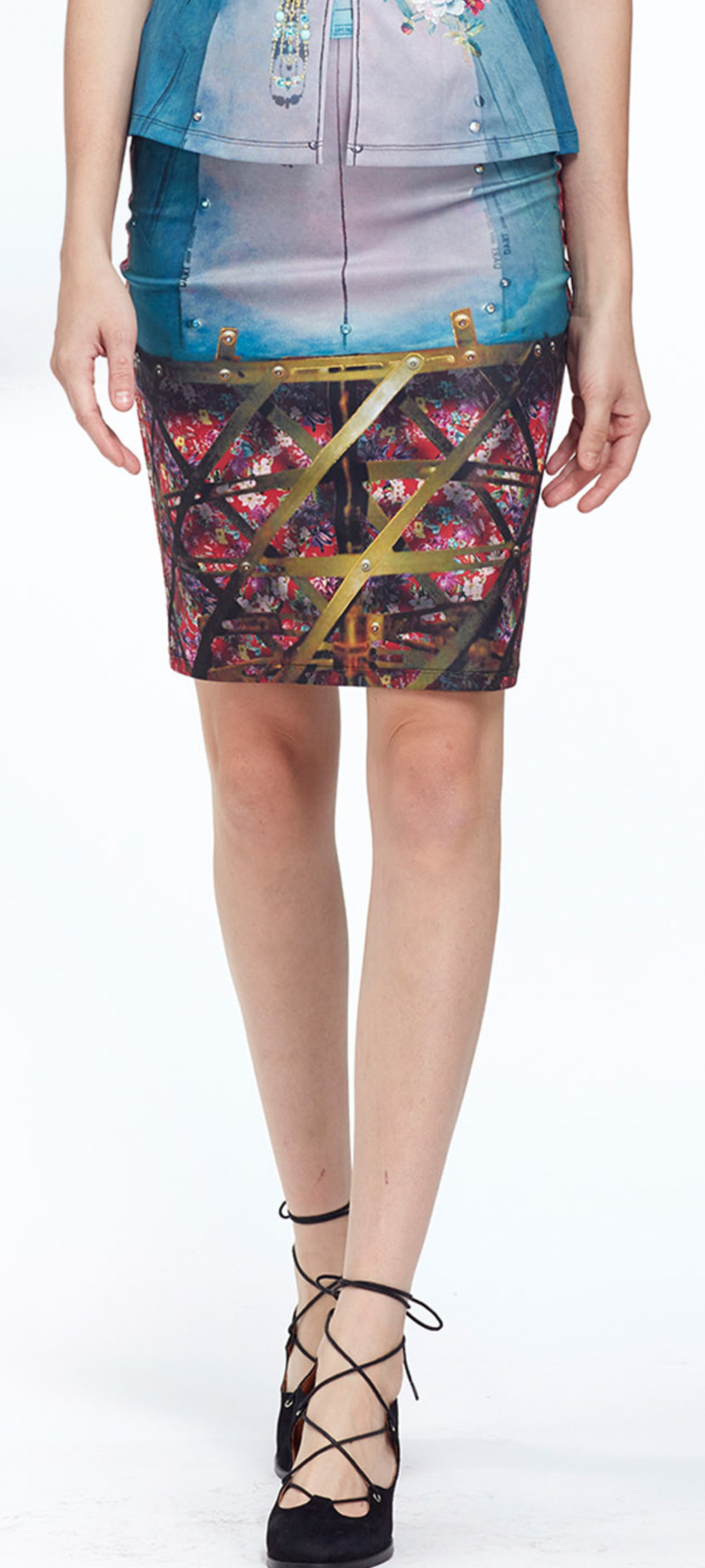 IPNG: Adjust-o-matic Shadow Illusion Short Skirt (Some Ship Immed!) IPNG_AOMSKM-110