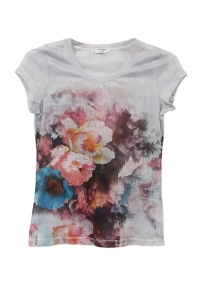 Paul Brial: Airbrushed Art Bouquet T-Shirt SOLD OUT PB_NUAGE_BOUQUET