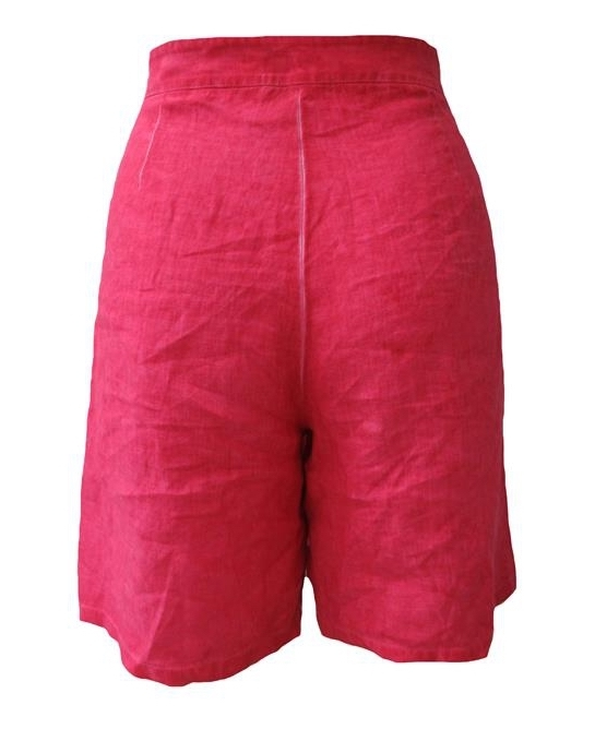 Maloka: Frills & Thrills High Waisted Linen Shorts (More Colors!)