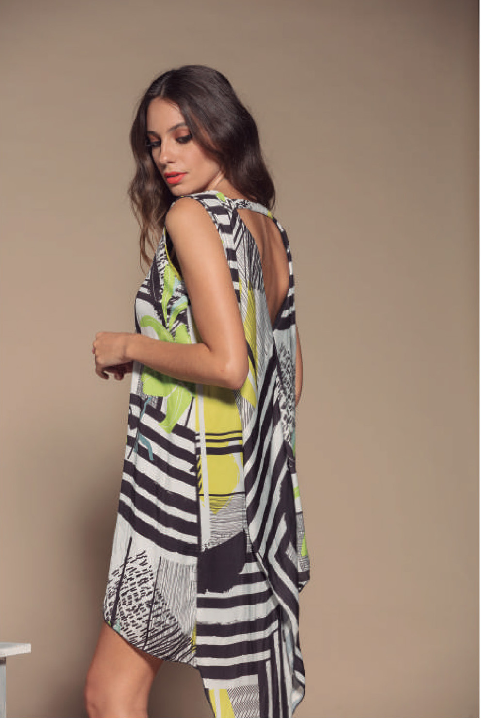 Maloka: Colors Of Picasso's Gypsy Beauty Abstract Art Beach Tunic/Dress (More Colors, Few Left!)