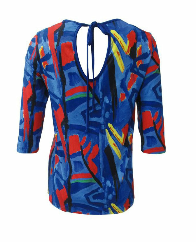 Maloka: Colors Of Picasso's Gypsy Beauty Abstract Art Tunic (1 Left!)