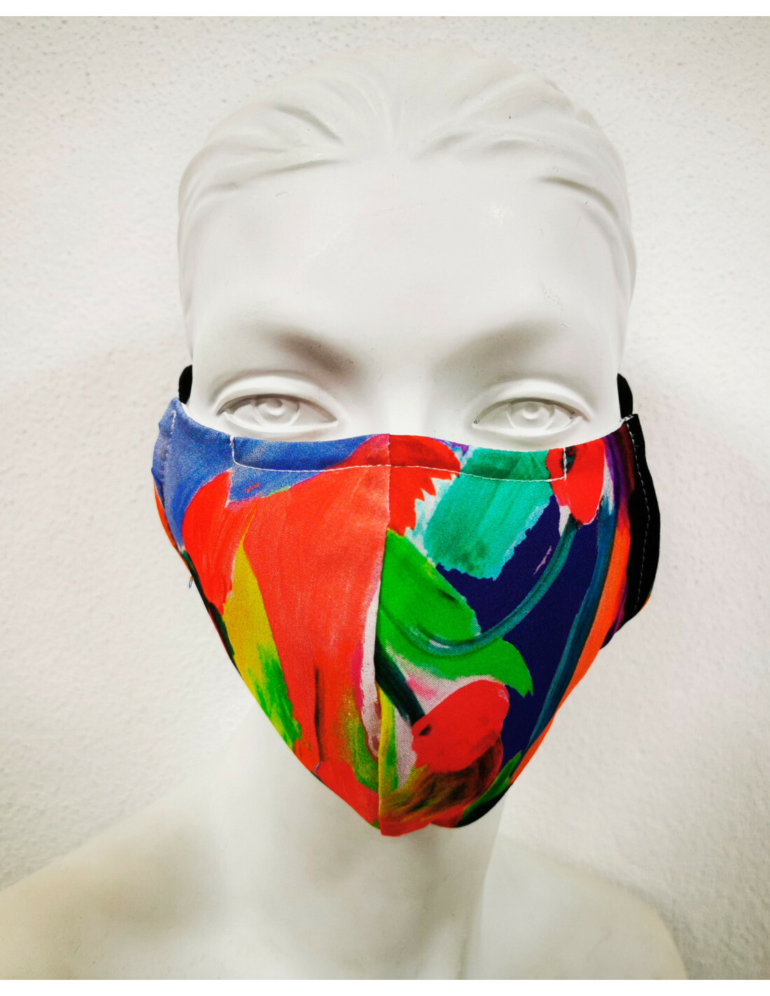 Maloka: Colors Of Picasso's Abstract Art Protective Masks 1, 2 & 3-Pack (More Colors, With Filter!) MK_MASKS_ART