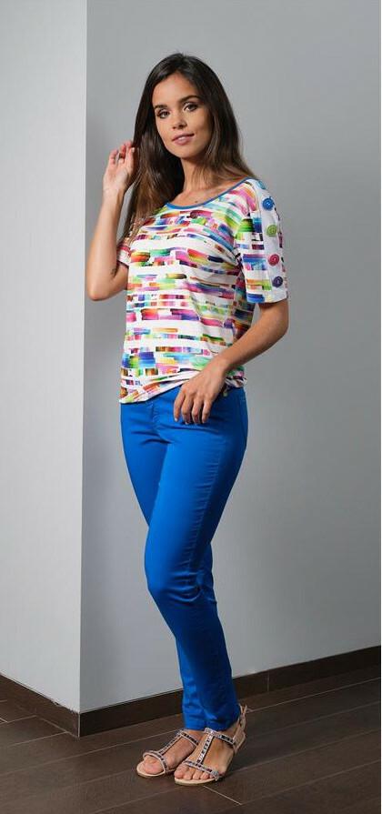 Paul Brial: Prismatic Tie Dye T-Shirt