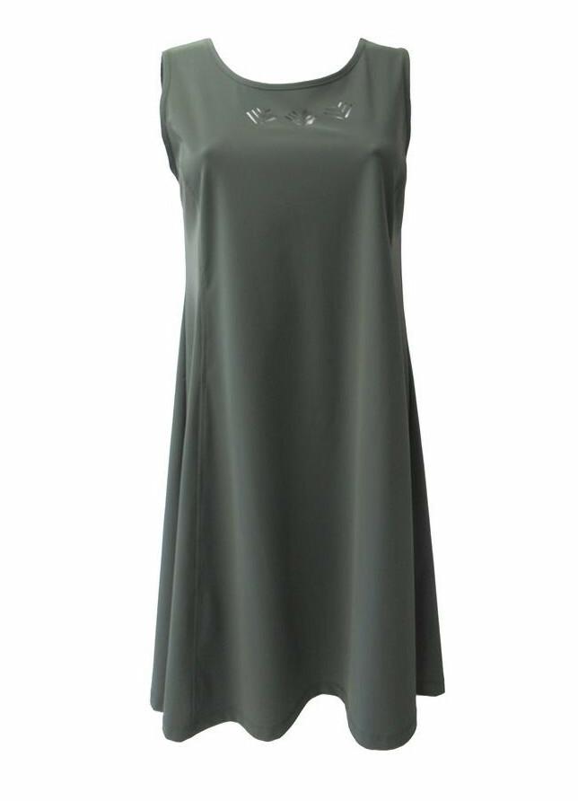 Maloka: Sleek Swirl Decolletage Flare Tunic