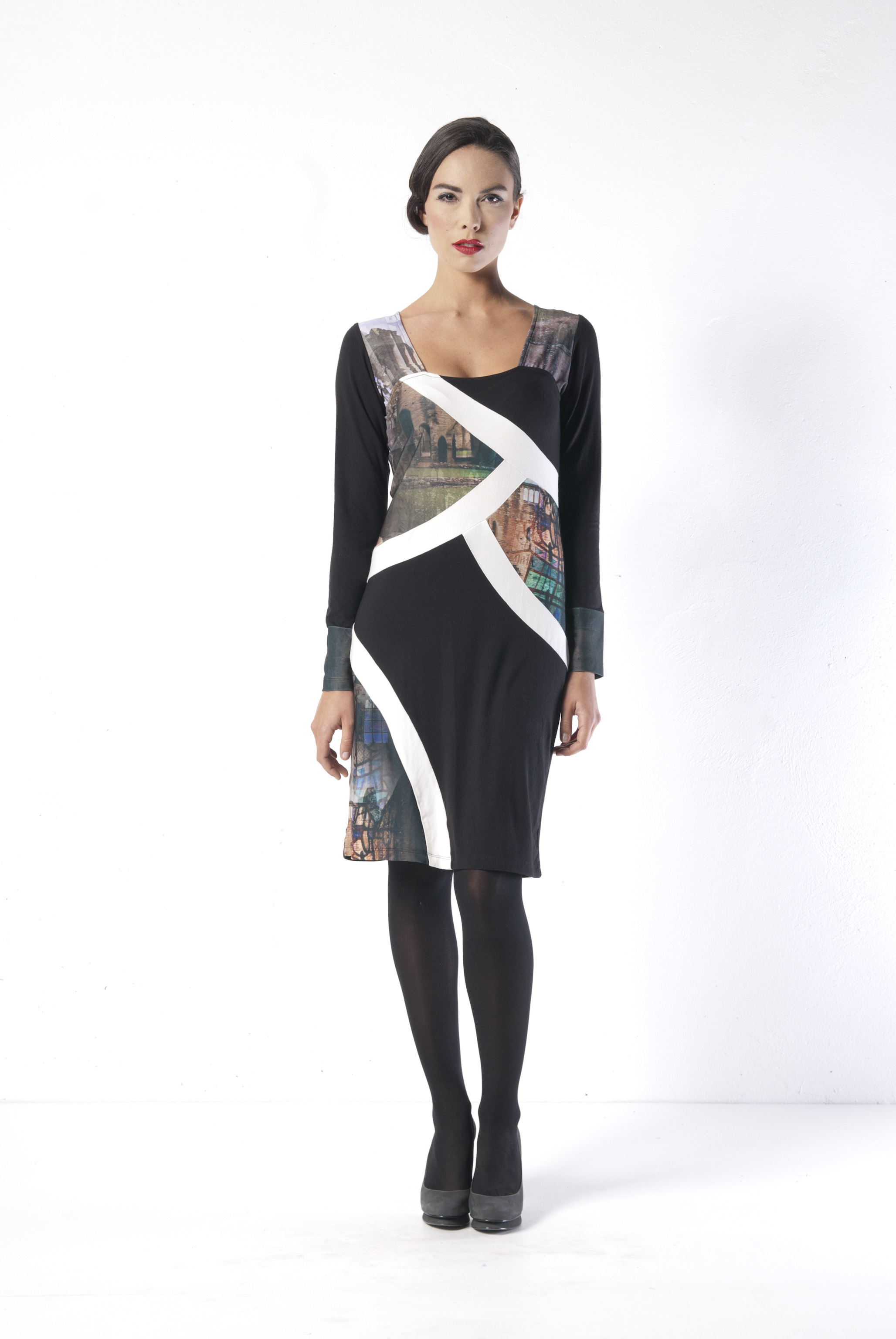 Les Fees Du Vent Couture: Notre Dame At A Glance Dress