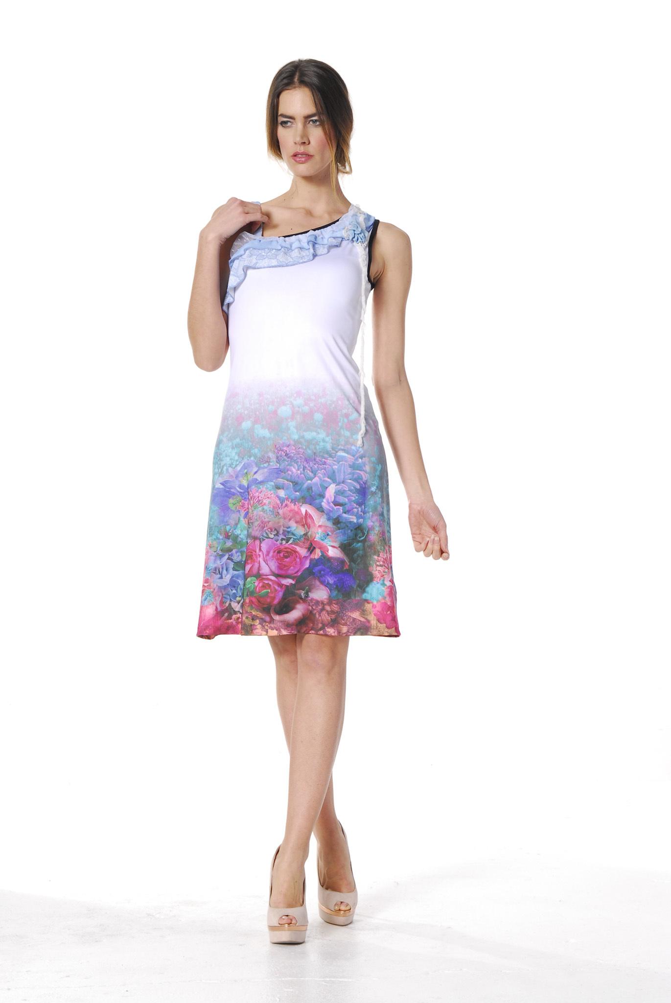Les Fees Du Vent Couture: Fuschia Fairytale Sundress LFDV_888107_N3