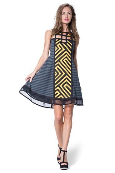 Pygmees Paris: Seductive Maze Sexy Dress SOLD OUT TT1739_N