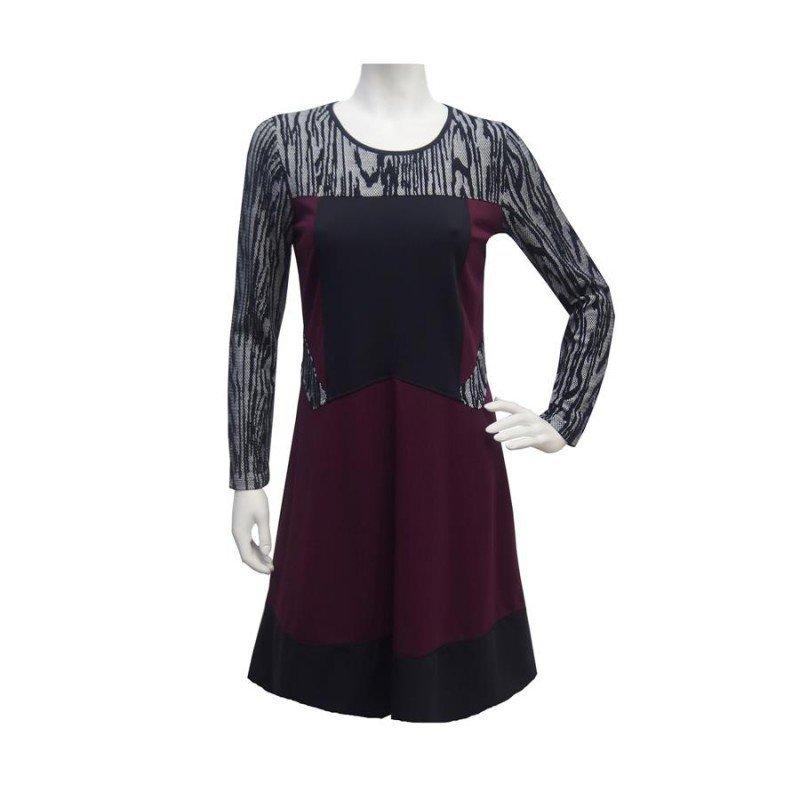 Maloka: Diamond Bodice Jacquard Dress (2 Left!)