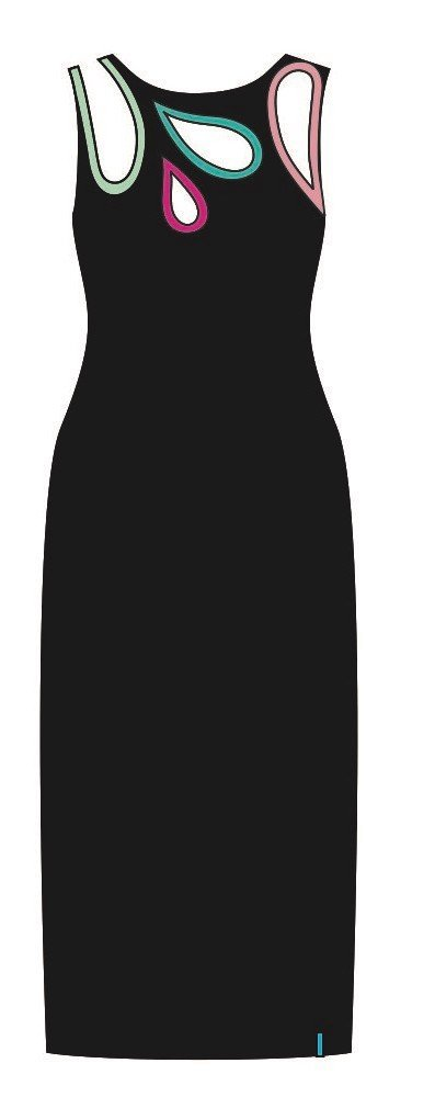 Pygmees Paris: Sexy Shizuku Maxi Dress (1 Left!) TT1753L_N1