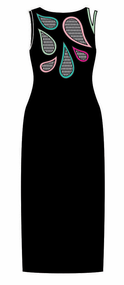 Pygmees Paris: Sexy Shizuku Maxi Dress (1 Left!)