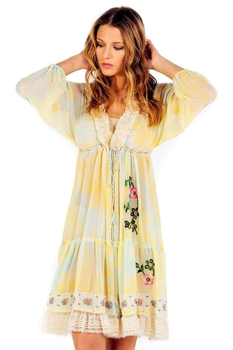 Savage Culture: So Sweet Ruffled Baby Doll Petal Dress Sicilia SAVAGE_34063