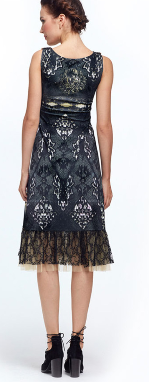 IPNG: Love Me Black Bejeweled Illusion Midi Gown (Some Ship Immed!)