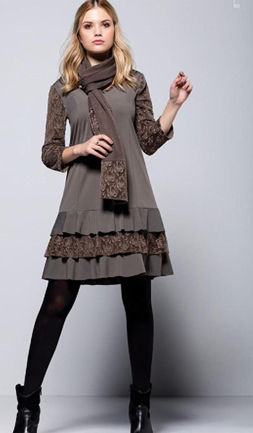 Maloka: Triple Cut Velvet & Contrast Ruffled Hem Dress (1 Left in Powder Blue!) MK_ROUANNE_N2