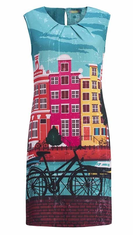 Dolcezza: Colors of Amsterdam Art Sundress SOLD OUT DOLCEZZA_SIMPLYART_19176_N1