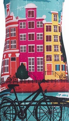 Dolcezza: Colors of Amsterdam Art Sundress SOLD OUT