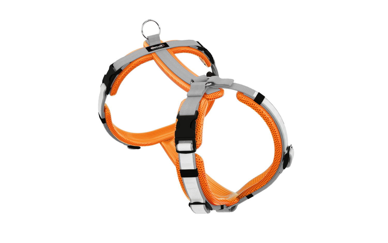 Secure Easy neonorange-silber M/L