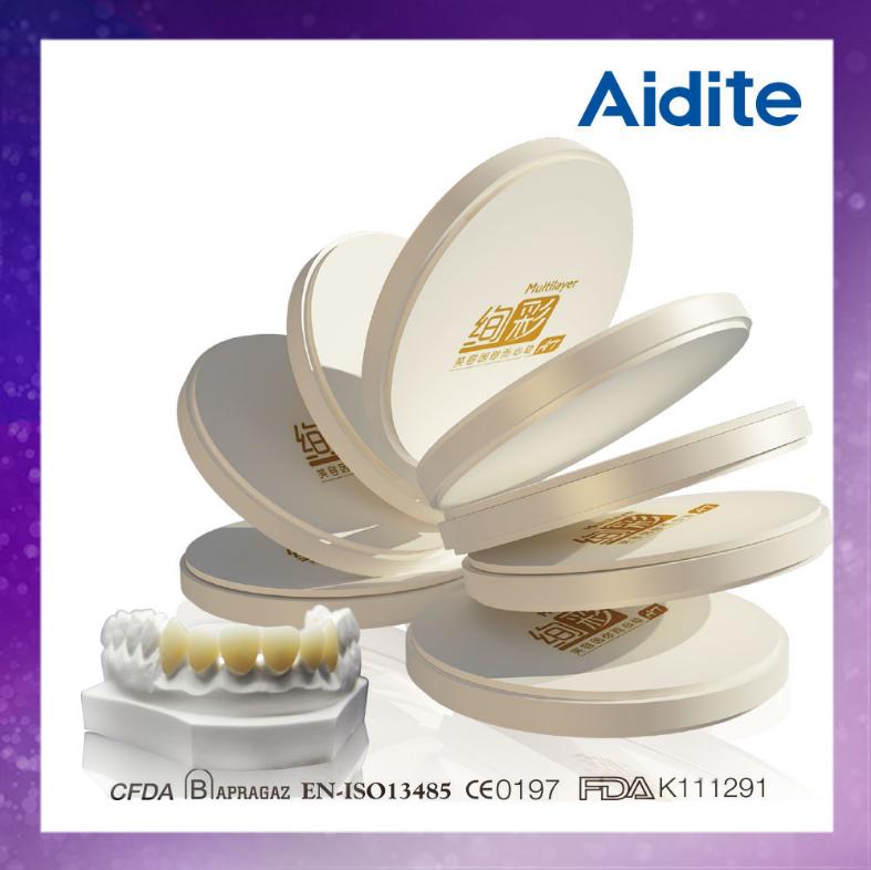 Диски циркониевые AIDITE 98х16