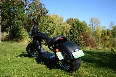 gebraucht E-Scooter Modell M1  mit COC matt schwarz