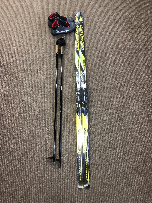 Skis de fond - Ensemble Van Bergen
