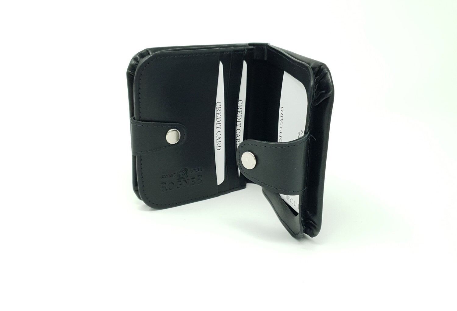 "Traditional austrian leather wallet ""horse shoe style"", big"