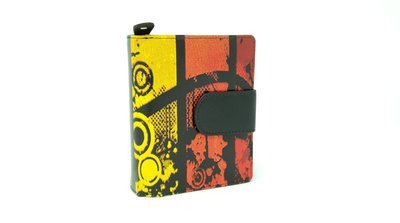 Women's purse with loop, multi-colour, S-size