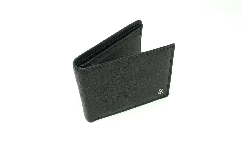 Men's wallet classic, calf leather