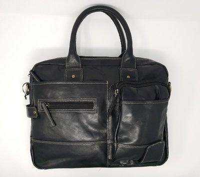 Business bag for men, black