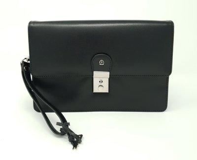 Men's business handbag classic black