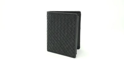 Men's wallet braided leather style small