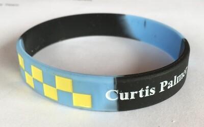 Curtis Palmer support Wristband