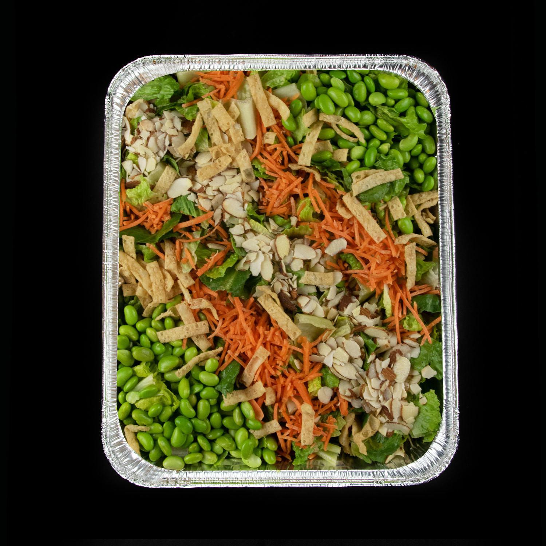 Vegan Mediterranean Salad Pan (GF, Vegan, DF)