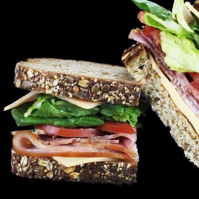 Turkey Club | Choose Salad or Soup