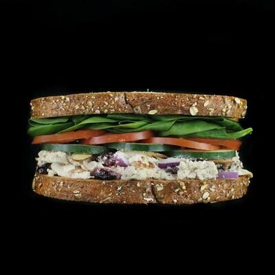 Vegan Fruit & Nut Salad | Choose Salad or Soup
