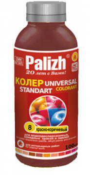 "Паста колер ""Palizh"" 8 (Красно-коричневый)"
