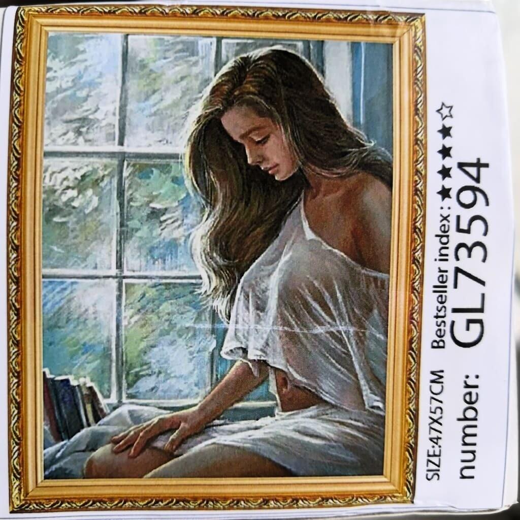 Алмазная мозаика без подрамника 40*50 см GL73594