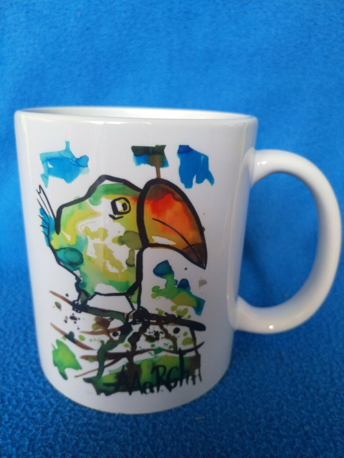 Toucan in its natural habitat - AAaRGh Art Collectie