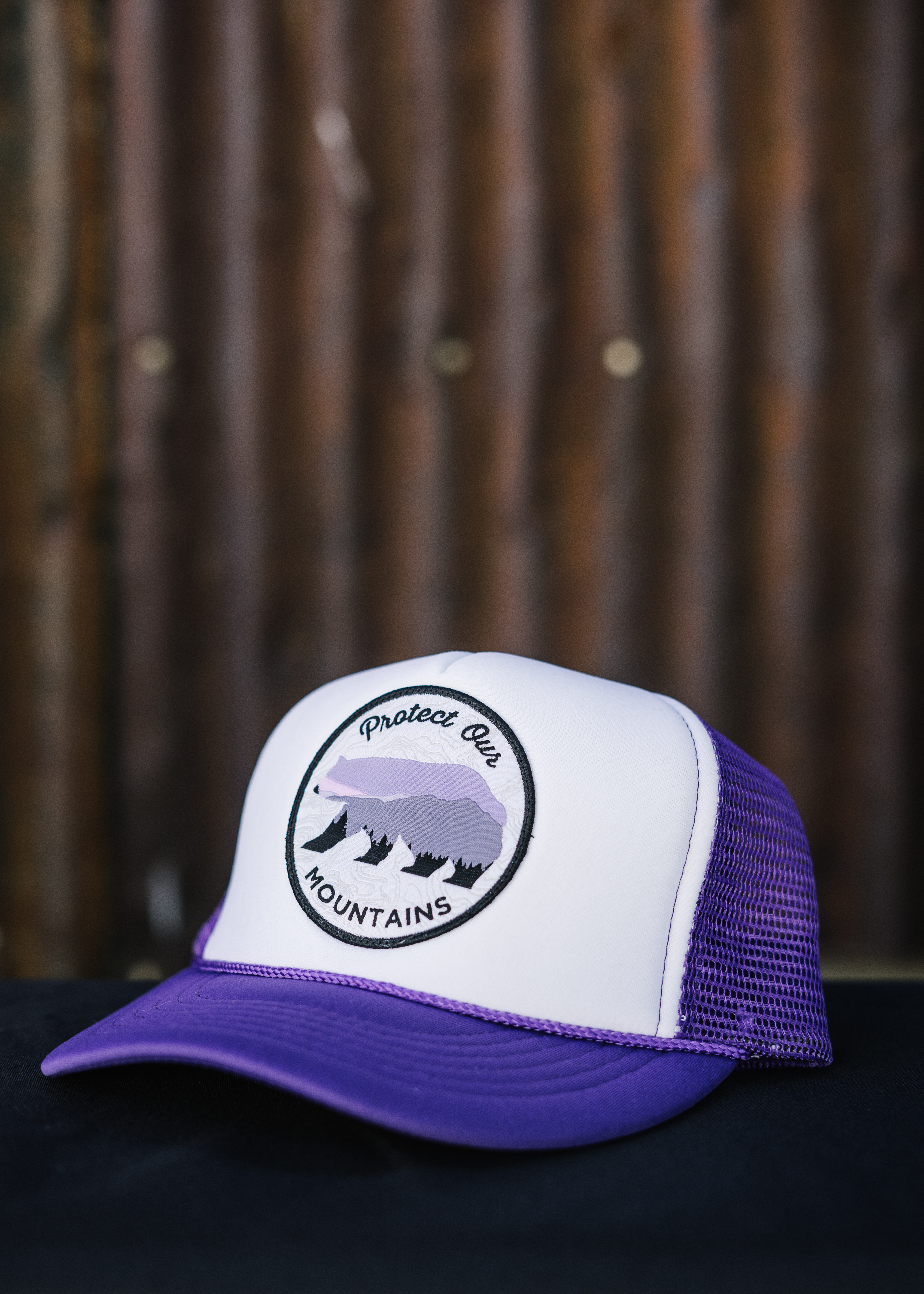 Protect Our Mountains Youth Trucker Hat 00016