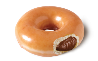Original Glazed Filled with Chocolate Hazelnut