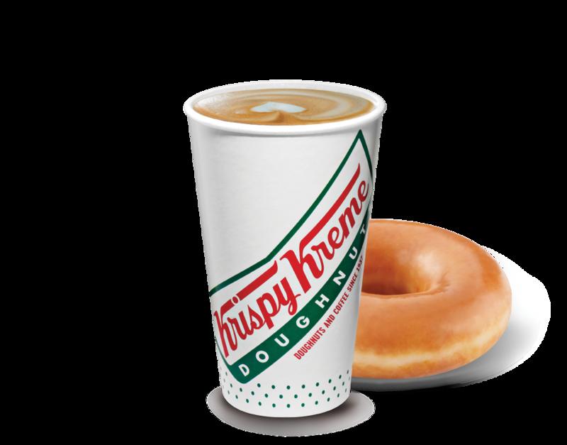 Latte de Krispy Kreme