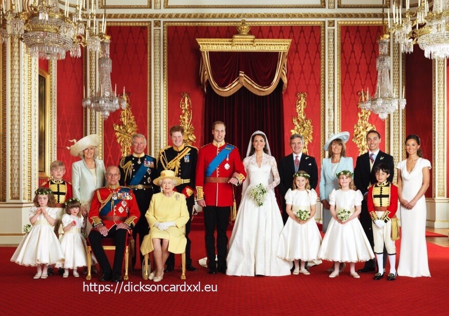 Family photo from  Prince William's  wedding 💕