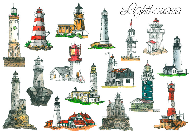 Llighthouses from A.Moreva