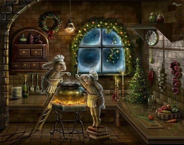 Волшебный Новогодний котел