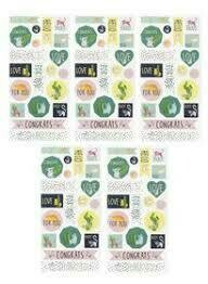 ​1 sticker sheet green