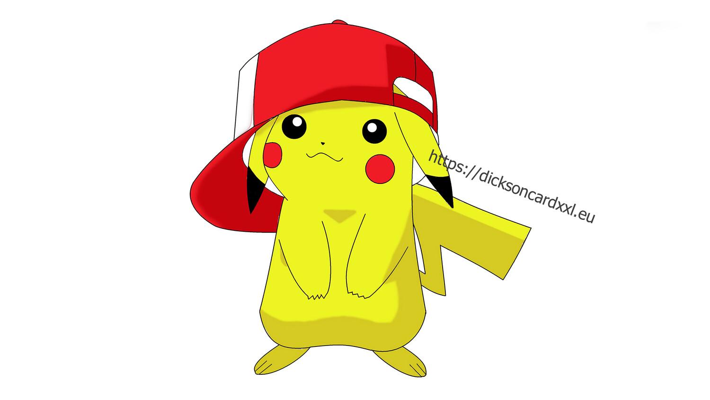 Pokemon Пикачу в кепке