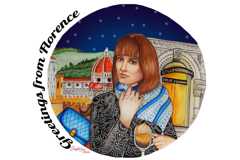 "NEW. Горожанка "" Florence """