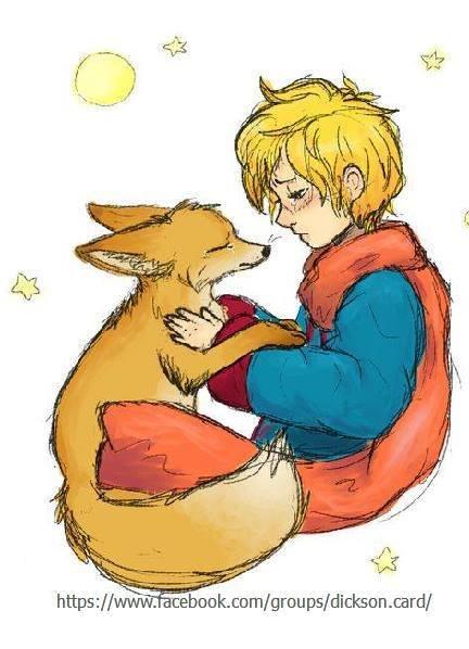 Little Prince and Fox - Hugs .