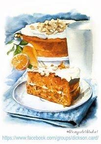 """Carrot Cake 🍰  by © """"StrangerArtStudent"""""""